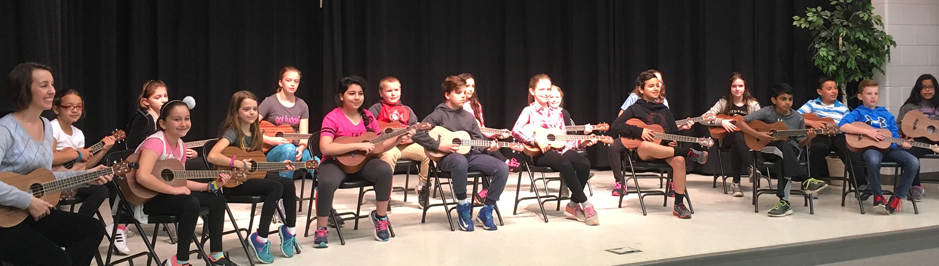 Support A Project - Ukulele Club