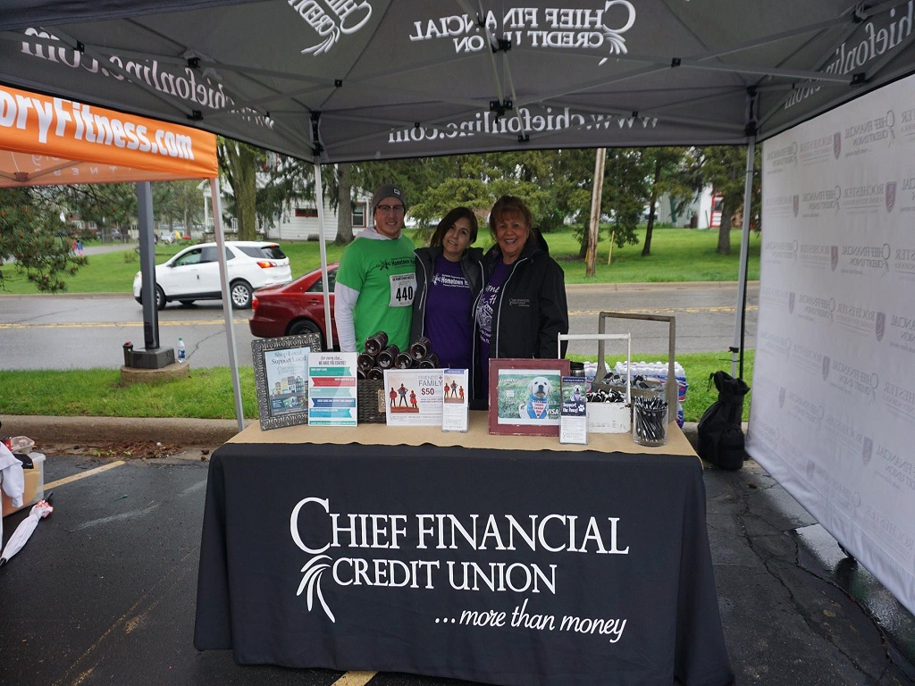 2018 Diamond (Event Naming) Sponsor - Chief Financial Credit Union