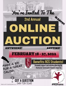 RCSF Annual Online Auction